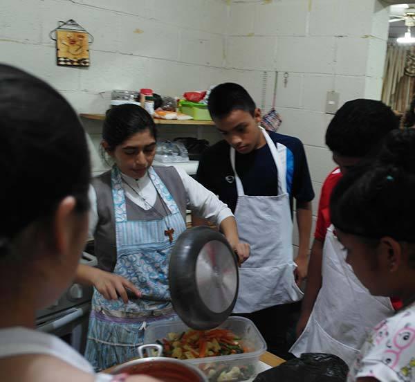 Making Pupusas