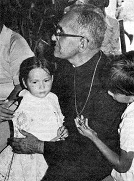 romero with child